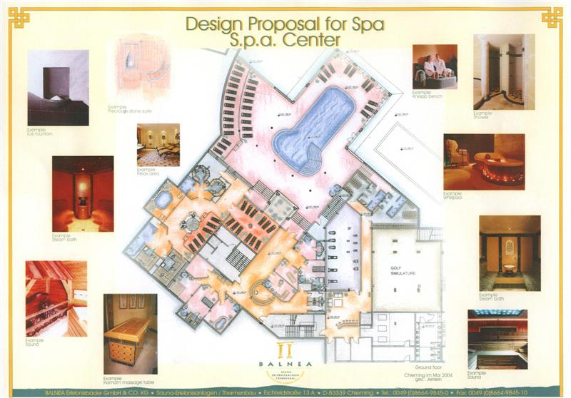 Plans Of Spa Centers Fortuna Spa Fitness Spa